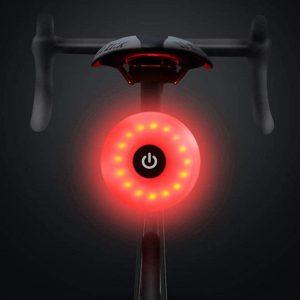 Luz para bicicleta barata y compacta